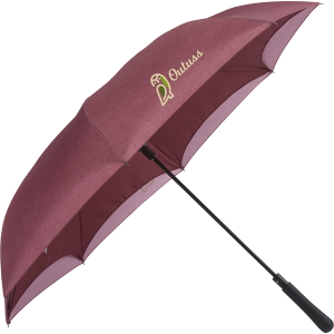 "48"" Auto Close Heathered Inversion Umbrella"