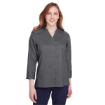 Devon & Jones Ladies' Crown Collection™ Stretch Broadcloth 3/4 Sleeve Blouse