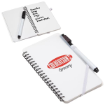 Write  Wipe Erasable Jotter Notebook